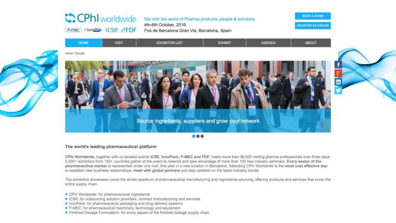 Meet AViPharm at CPhI Barcelona, Oct 4-5, 2016